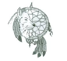 Dream Catcher Tattoo Stencils DreamCatcher and Wolf Tattoo Design by PushItArt on DeviantArt 43