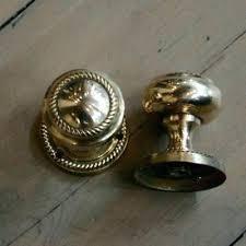 antique door furniture reclaimed brass knobs items 3