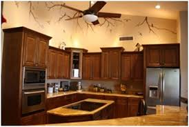 kitchen wall colors with brown cabinets kitchen cabinets