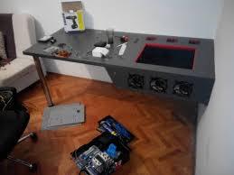 my pc desk case build log