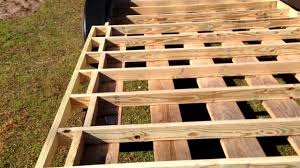 Small Picture How to Build A Tiny House Episode 3 Subfloor Framing Cont