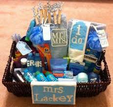 it s a honeymoon basket for heather and kyle lackey