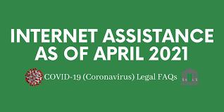 Internet Assistance as of April 2021 - SLLS