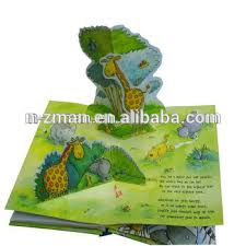 printed 3d book 3d book with world kids 3d book