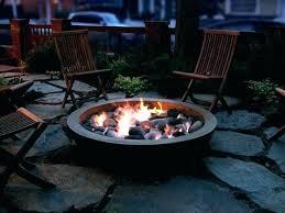 diy concrete fire bowl concrete fire pit