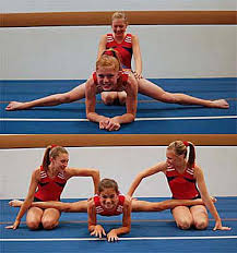 floor gymnastics splits. Full Center Split Floor Gymnastics Splits