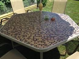 tile outdoor table. How To Make A Tile Patio Table Top. Outdoor L