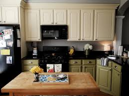 Blue Painted Kitchen Cabinets Kitchen Best Color To Paint Kitchen Cabinets And Astonishing