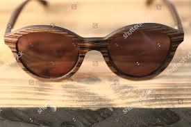Sunglasses London Design Wooden Framed Sunglasses Displayed London Design Festival