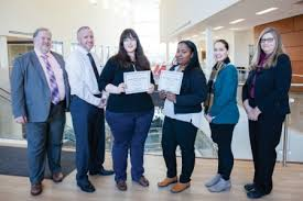 students win national distance learning week scholarship  rowan college at burlington county s national distance learning week scholarship essay contest winners catherine jewett and