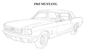 2016 ford mustang coloring pages page 2 kids on