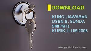 Buku, pensil lan garisan 3. Download Kunci Jawaban Usbn Bahasa Sunda Smp Mts Kurikulum 2006 Blognya Pabaiq