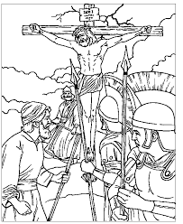 Small Picture The Crucifixion Coloring Page 2