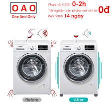 Chống rung máy giặt - 4 miếng cao su 1 và 2 tầng - Kệ máy giặt - Chân đế máy  giặt - Chống ồn máy giặt - Phụ kiện giặt ủi chính hãng 82,000đ