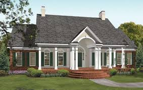 One Story Southern House Plans   Smalltowndjs comMarvelous One Story Southern House Plans   House Plans Colonial Style Homes
