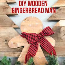 diy gingerbread man with dremel