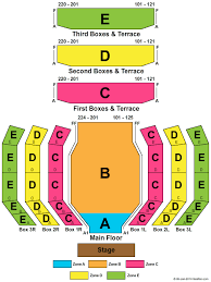 Beef And Boards Seating Chart Clowes Memorial Hall Seating Chart