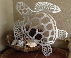 sea turtle large 26 handmade metal wall