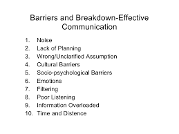 essay on barriers of communication   we can do your homework for      slideshare net  barriers and breakdown effective communication