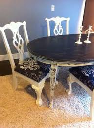 customize your dining set shabby chic tables with reupholstered chairs exles of our work traditional dining chairsdining room