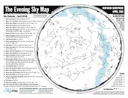 Monthly Sky Chart Monthly Star Maps Big Sky Astronomical Society