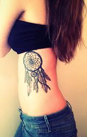 Dream Catcher Tattoo Miley Cyrus Linda toos Dream catcher tattoo on ribs 90