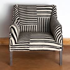 mesmerizing black and white armchairs for ay studded armchair block print black white