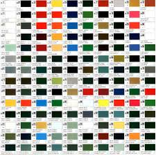 Gunze Sangyo Hobby Color Chart Foto Hobby And Hobbies