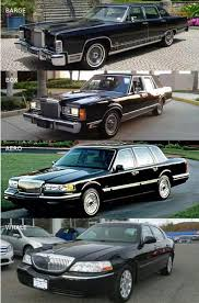 black lincoln town car 2014. 4 generations of lincoln town car black 2014