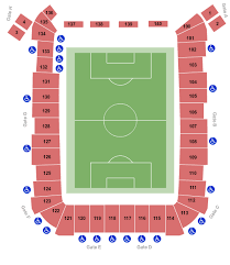 Seattle Sounders Seating Chart With Rows Colorado Rapids Vs Seattle Sounders Fc