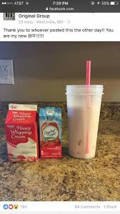 Crystal Light Shake It Off Pour Over Ice And Add 2 Tbs Of Heavy Whipping Cream Low