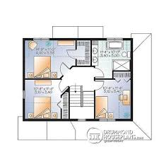 Small Picture House plan W3721 detail from DrummondHousePlanscom