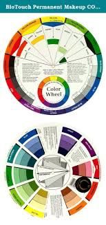Biotouch Permanent Makeup Color Wheel Accessory Tools Chart
