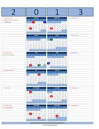 custom calendar templates free 2013 custom calendar template