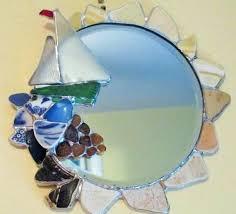 image 0 sea glass mirror home depot sailboat
