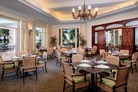 restaurant dining room design. A Dining Room With Doors Opening To Balcony Restaurant Design