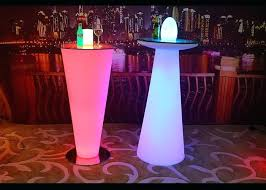 table anti water glow cocktail tables interactive led coffee table super bright with fridge bluetooth