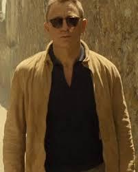 007 daniel craig suede jacket