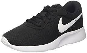 nike running shoes black and white. nike womens wmns tanjun, black/white, 5 us running shoes black and white