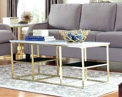 round marble top end table coffee table gold metal and glass end tables oval wood coffee