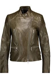 belstaff women s sidney quilted and smooth leather biker jacket