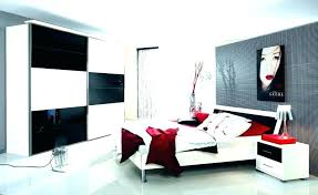 Black And White Bedroom Red And Black Bedroom Curtains Red And Black ...