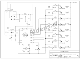 electronic load controller for microhydro system the triacs are directly driven out galvanic insulation to allow this the 5 volt vcc for this circuit is connected to the neutral side of the 220v