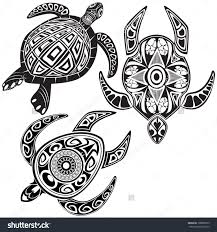 как нарисовать черепаху с узором черепахи татуировки