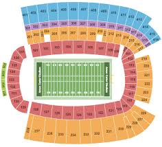 Tcu Baseball Field Seating Chart Amon Carter Stadium Seating Chart Fort Worth