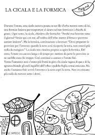 La Cicala E La Formica Favola E Scheda Stampabile Portale Bambini