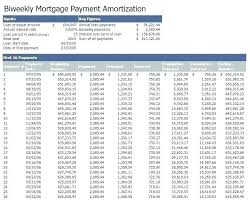 Bi Weekly Amortization Schedule Excel. Amortization Schedule ...