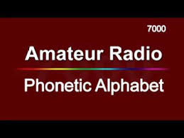 The nato phonetic alphabet is a spelling alphabet used by airline pilots, police, the military, and others when communicating over radio or telephone. Amateur Radio Phonetic Alphabet Ham Youtube