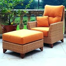 Rattan Chair And Ottoman Pottery Barn66