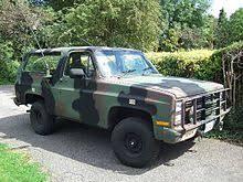 chevrolet k5 blazer military m1009 cucv k5 blazer